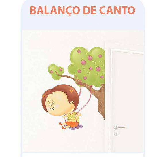 BALAN�O DE CANTO - ADESIVO DECORATIVO