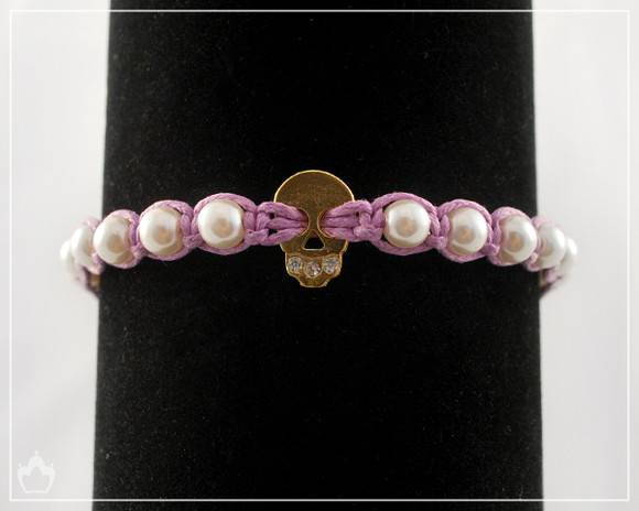 Shambala Skull and Pearls