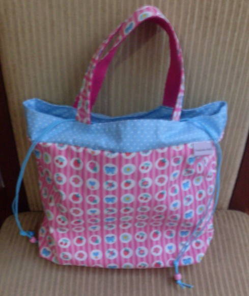 Lunch Bag rosa e azul