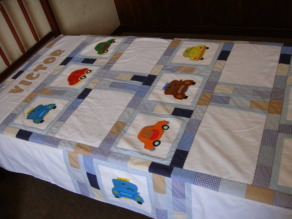 Colcha Patchwork- Infantil