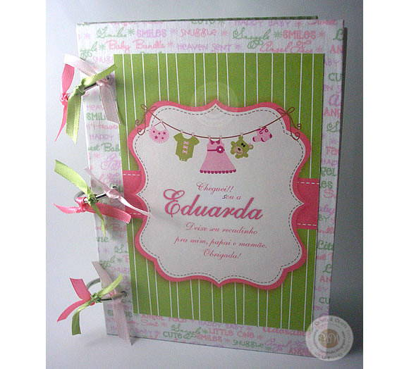 Caderno de Assinatura (Baby Girl)