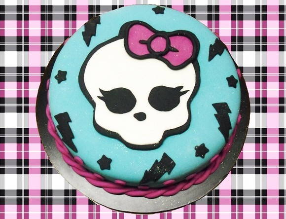 Bolo Monster High - Bolo de verdade!