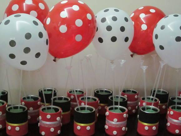 Centros de mesas de Minnie y Mickey - Imagui