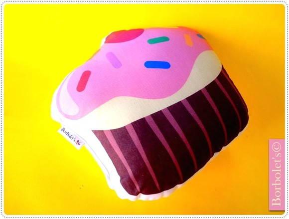 Almofada Toy Cupcake