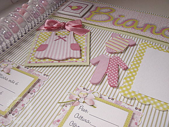 lbum de fotos em scrap personalizado
