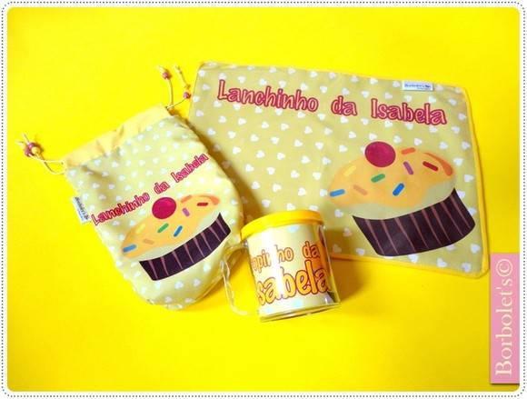 Kit Lanchinho personalizado