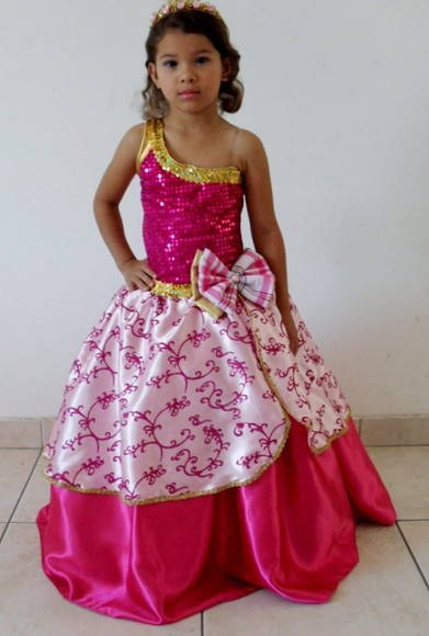 Fantasia   Barbie Escola De Princesas