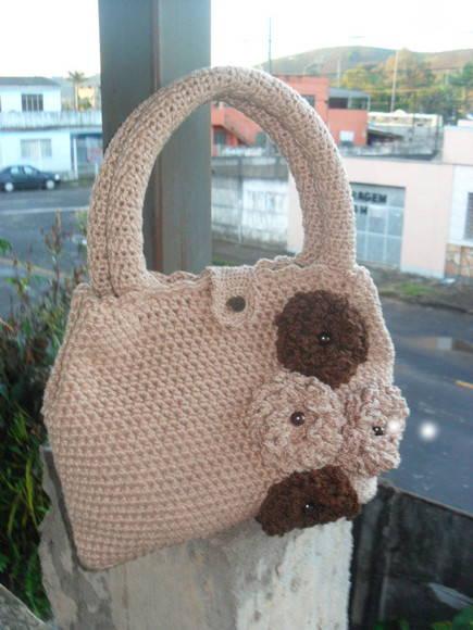 Bolsa De Mão Feita De Croche : Bolsa de croch? m?o e artes da r? by rosangela