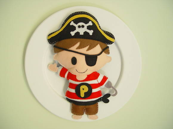 (DO 0063) Quadro decorativo pirata