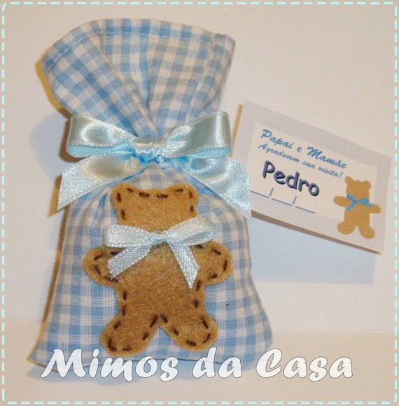 Lembrancinha Sach urso