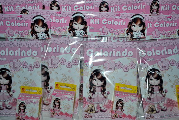 Kit Revista de Colorir Jolie