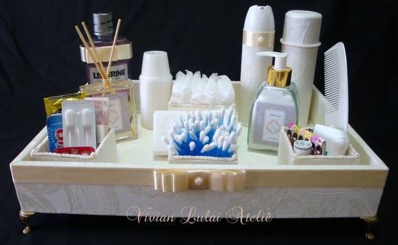 Kit De Banheiro Simples : Kit toalete p casamentos e festas vivian lulai elo