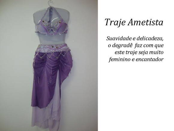 Traje Ametista
