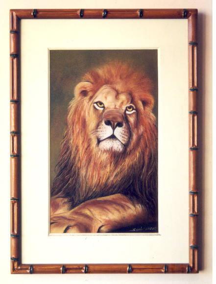 Quadro Rei Le�o