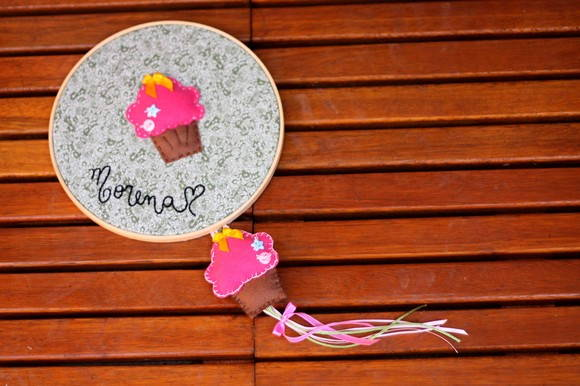 Porta Maternidade Cupcake