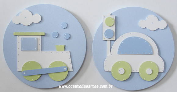 Mix de Quadros Decorativos