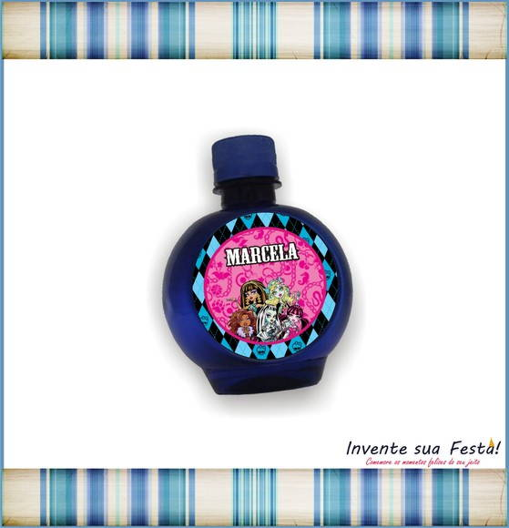 Etiqueta �gua Monster High