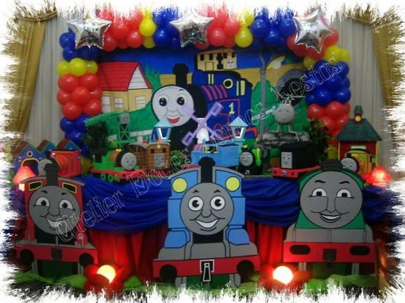decoracao festa thomas e seus amigos:de Festa Thomas e seus amigos