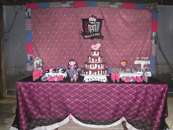 Monster High Decora��o de Festa