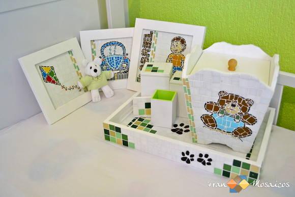 Mosaico Kit Decora��o Infantil