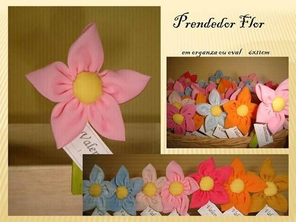 Prendedor Flor