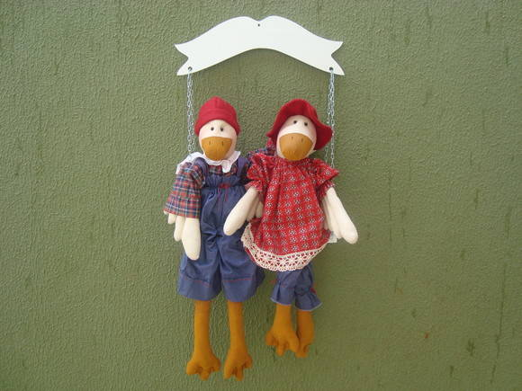 casal de pato no balano