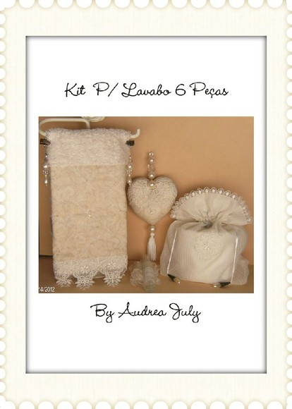 Kit p/ Lavabo 6 Pe�as