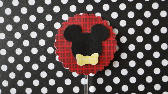 MM13 - Topper Cupcake  Mickey