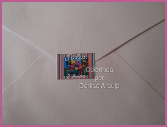 Lacre para Envelope / Selo Backyardigans
