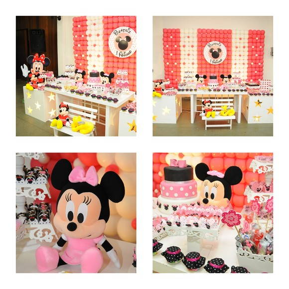 Decoracao Festa Infantil Minnie