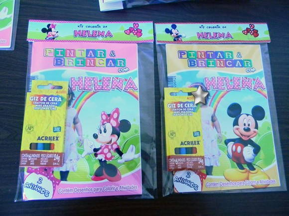 Kit Revista Para Colorir Minnie 21x15