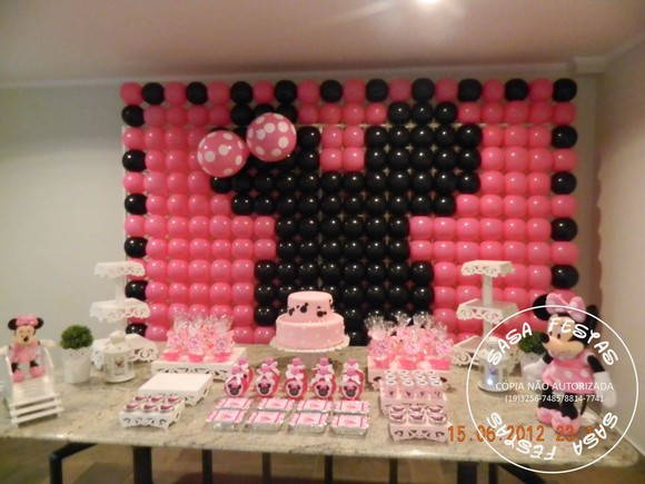 decoracao festa minnie rosa : decoracao festa minnie rosa: decoracao minnie rosa source http www elo7 com br decoracao minnie