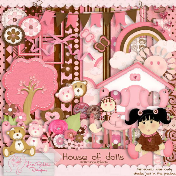 Kit Digital House Of Dolls
