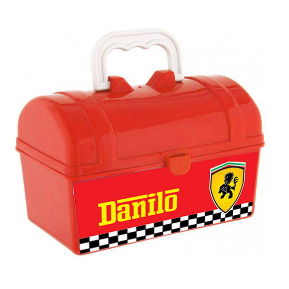 Maletinha Ba� Ferrari Baby