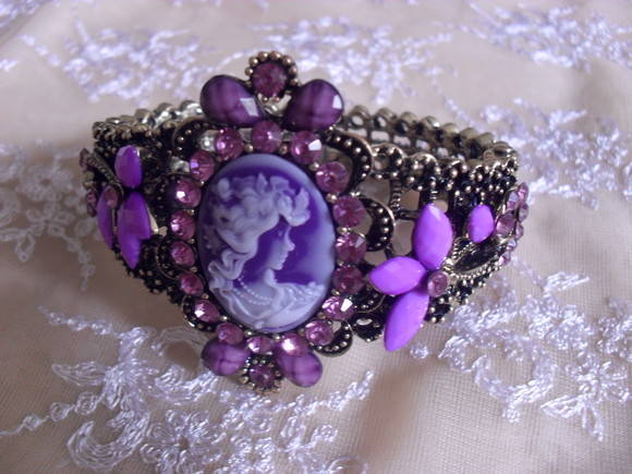 Bracelete Vitoriano Orchid