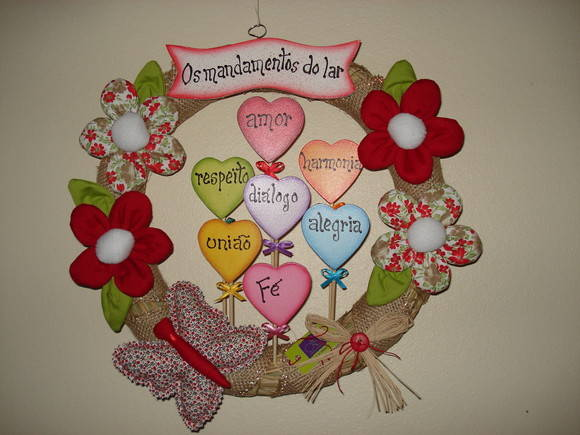 1000+ images about guirlandas on Pinterest | Spring wreaths, Wreaths ...