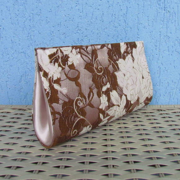 Clutch Renda Bicolor