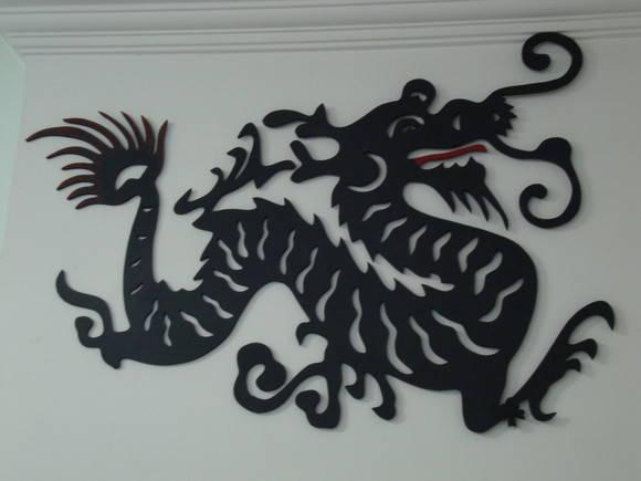 Escultura Drag�o