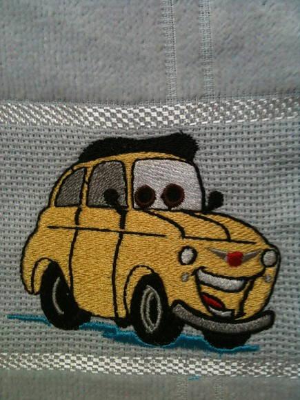 Toalha escolar - Luigi (Carros)