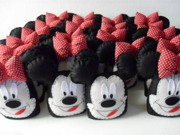 Peso de porta Minnie e Mickey