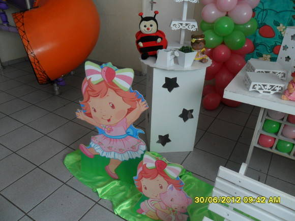 Decora��o Moranguinho Baby Clean
