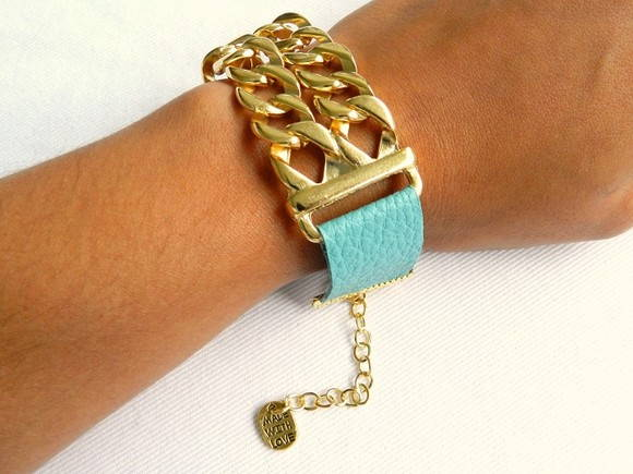 Bracelete Turquesa