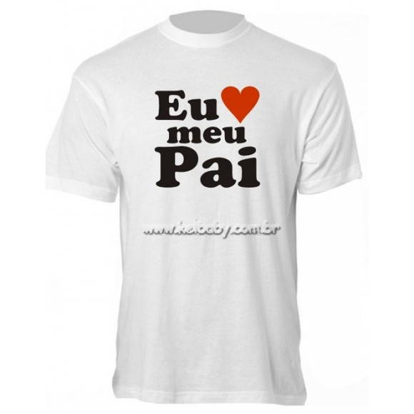 Camisetas Filho e Papai- Dia dos Pais