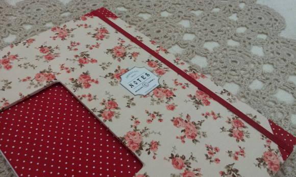 Caderno Floral Salm�o - A4