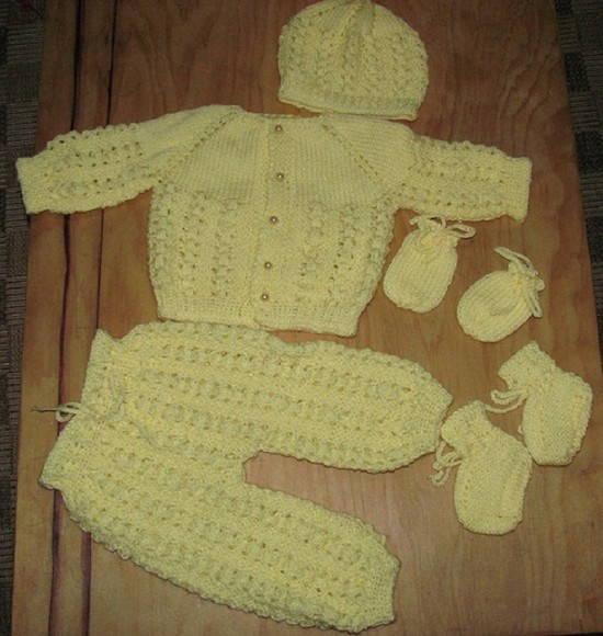 Conjunto/Enxoval de beb� rec�m nascido