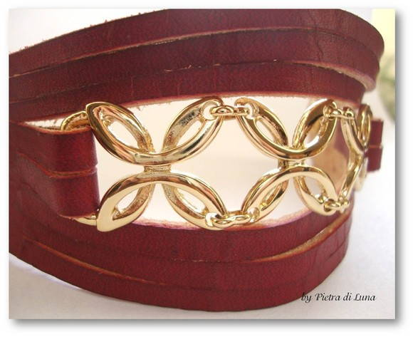 Bracelete Carmin in Gold