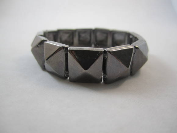 Pulseira spike metal black