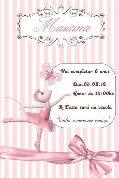 Festa Angelina Bailarina