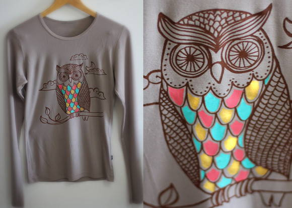 Camisa Owl Minha corujinha!