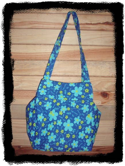 Bolsa lonita flores